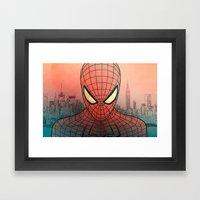 The Amazing Spider-Man Framed Art Print