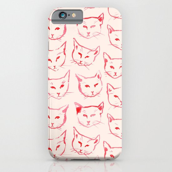 Red Cat iPhone & iPod Case