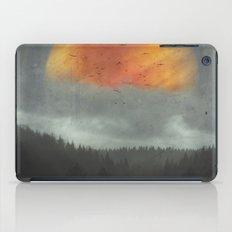 Spaces XVI - Fireball iPad Case