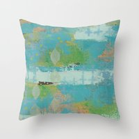 Just Be. Throw Pillow