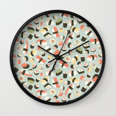 Yummy Sushi! Wall Clock