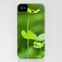iPhone Cases featuring Lucky Ladybug by Savannah Wishart
