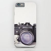 iPhone & iPod Case featuring The Polar Bear and The Zenit by Susannah Tucker