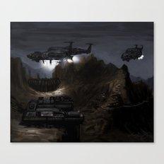 Home Base Canvas Print
