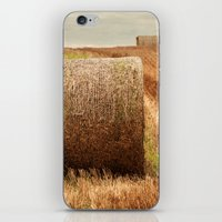 Hay Bale Symmetry iPhone & iPod Skin