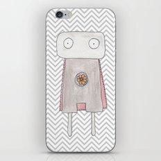Robot superhero iPhone & iPod Skin