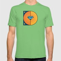 D like D Mens Fitted Tee Grass SMALL