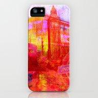 LONDON iPhone (5, 5s) Slim Case