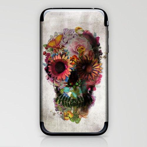 SKULL 2 iPhone & iPod Skin