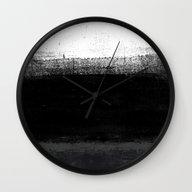 Ocean No. 2 - Minimal Oc… Wall Clock