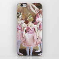Before the Dance - Ballet Series iPhone & iPod Skin