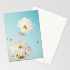 Garden of flowers. Stationery Cards