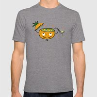 Pineapple Curry Mens Fitted Tee Tri-Grey SMALL