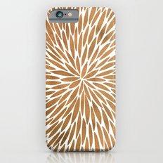 Rose Gold Burst iPhone 6 Slim Case
