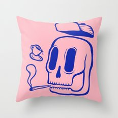 CoffeeMeetsJoint Throw Pillow