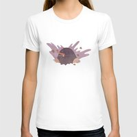 The mole Womens Fitted Tee White SMALL