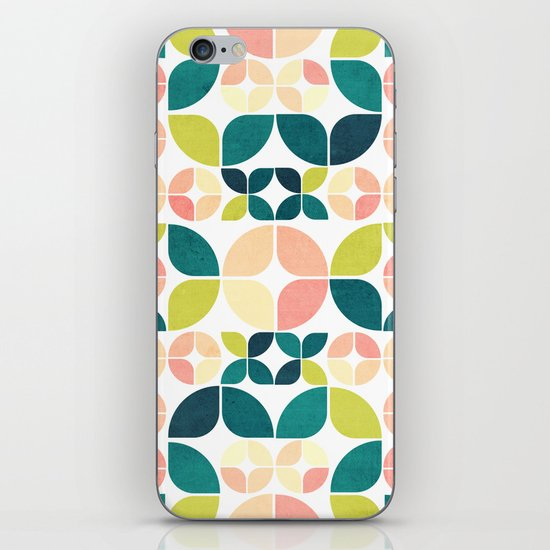 Rose Garden Pattern iPhone & iPod Skin