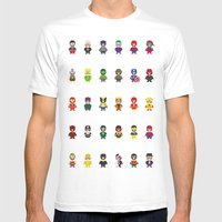 Really Super Mario Vs Re… Mens Fitted Tee White SMALL