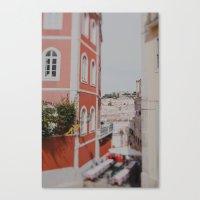 Summer in Lisbon Canvas Print