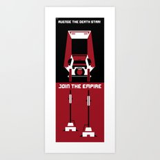 Avenge the Death Star Art Print