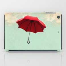 Red Umbrella iPad Case