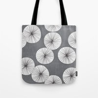 Umbrellas by Friztin Tote Bag