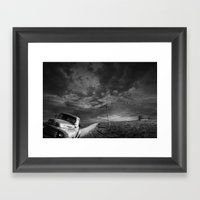 Decline Of The Small Ame… Framed Art Print