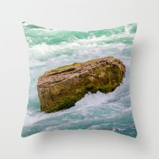 Solid as a rock Throw Pillow