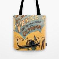 Vintage Theatrical Poste… Tote Bag