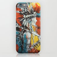 iPhone & iPod Case featuring Indian by ketizoloto