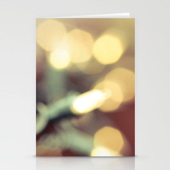 Glow Stationery Card