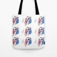 Margot As Harley Quinn F… Tote Bag