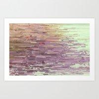 Mini Square Colors Art Print