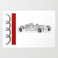 RennSport Speed Series: … Art Print
