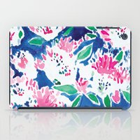 Ghost Flower iPad Case