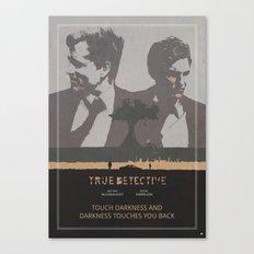 Poster True Detective 3 Canvas Print