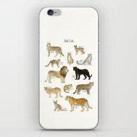 Wild Cats iPhone & iPod Skin