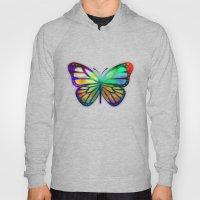 Vivid Butterfly Hoody