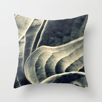Unraveling Throw Pillow