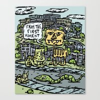 First Moment Canvas Print