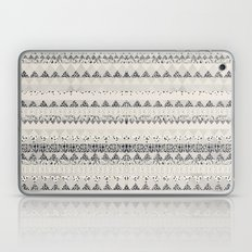 MONOTONE  GEOMETRIC ANIMAL PRINT  Laptop & iPad Skin