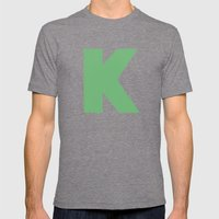 K Is For... Mens Fitted Tee Tri-Grey SMALL