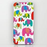 Colorful India Elephant … iPhone & iPod Skin