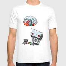 A Dream About the Future Mens Fitted Tee White SMALL