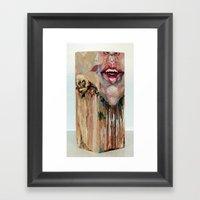 My Inevitable Self Destruction Framed Art Print