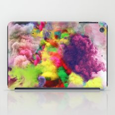 Colorful Smoke And Mirrors iPad Case