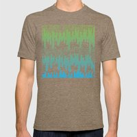 Trippy Drippys Mens Fitted Tee Tri-Coffee SMALL