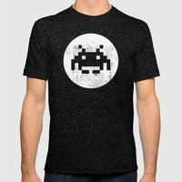 Invader Hero Mens Fitted Tee Tri-Black SMALL