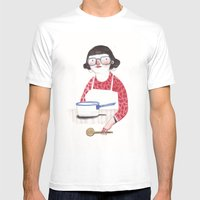 Pilar Mens Fitted Tee White SMALL