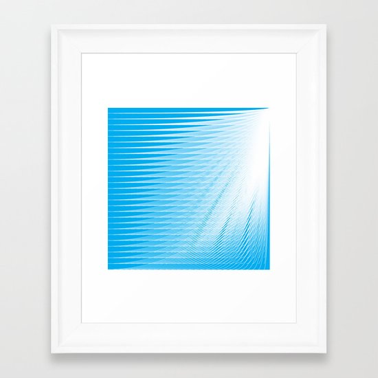 frozen still  Framed Art Print